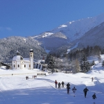Seefeld winterpanorama