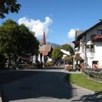 Het autovrije centrum van Seefeld